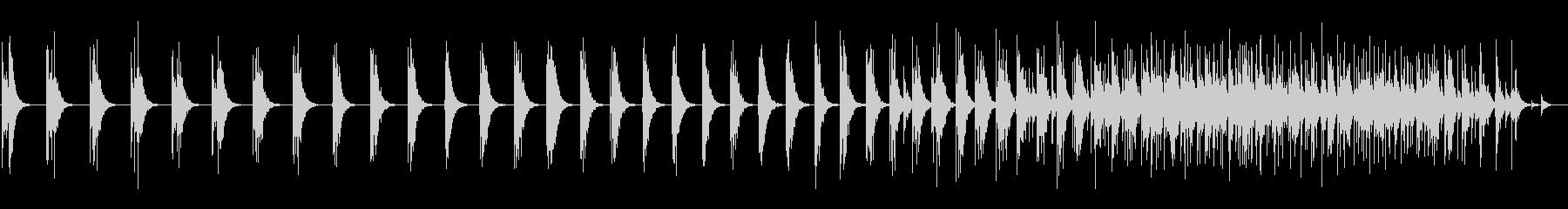 スモールスタジオオーディエンス:男...の未再生の波形