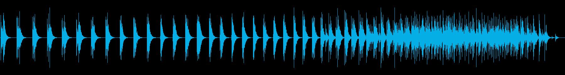 スモールスタジオオーディエンス:男...の再生済みの波形