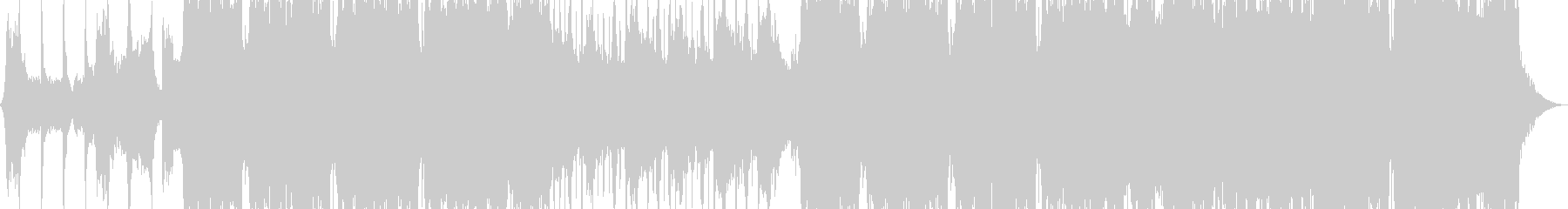 クールでエネルギッシュな音楽を運転するの未再生の波形