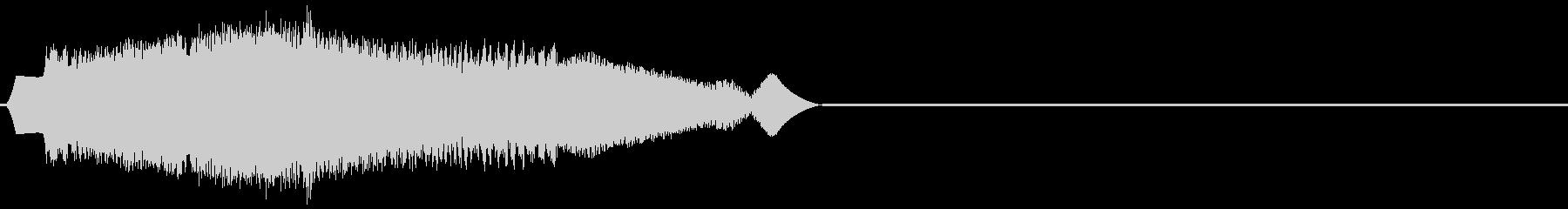 レーザー光子リングaの未再生の波形