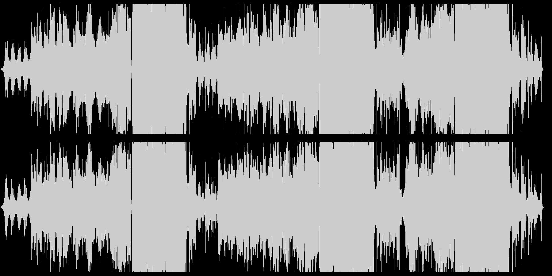 切ない女性ボーカルのバラード曲の未再生の波形