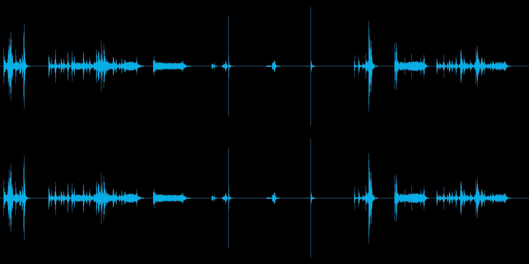 プリンター02-18(インク 交換)の再生済みの波形