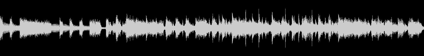 疾走感あるローデイング画面BGMの未再生の波形