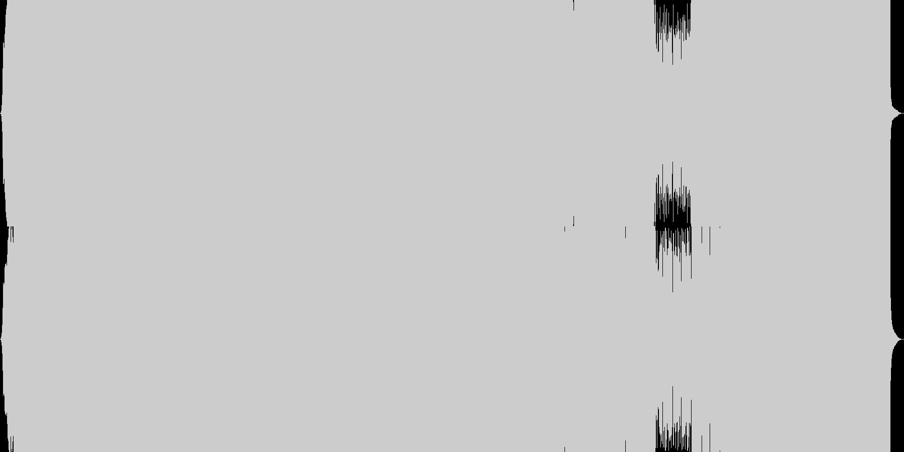 猫題材のコミカルなメタル風アイドルポップの未再生の波形