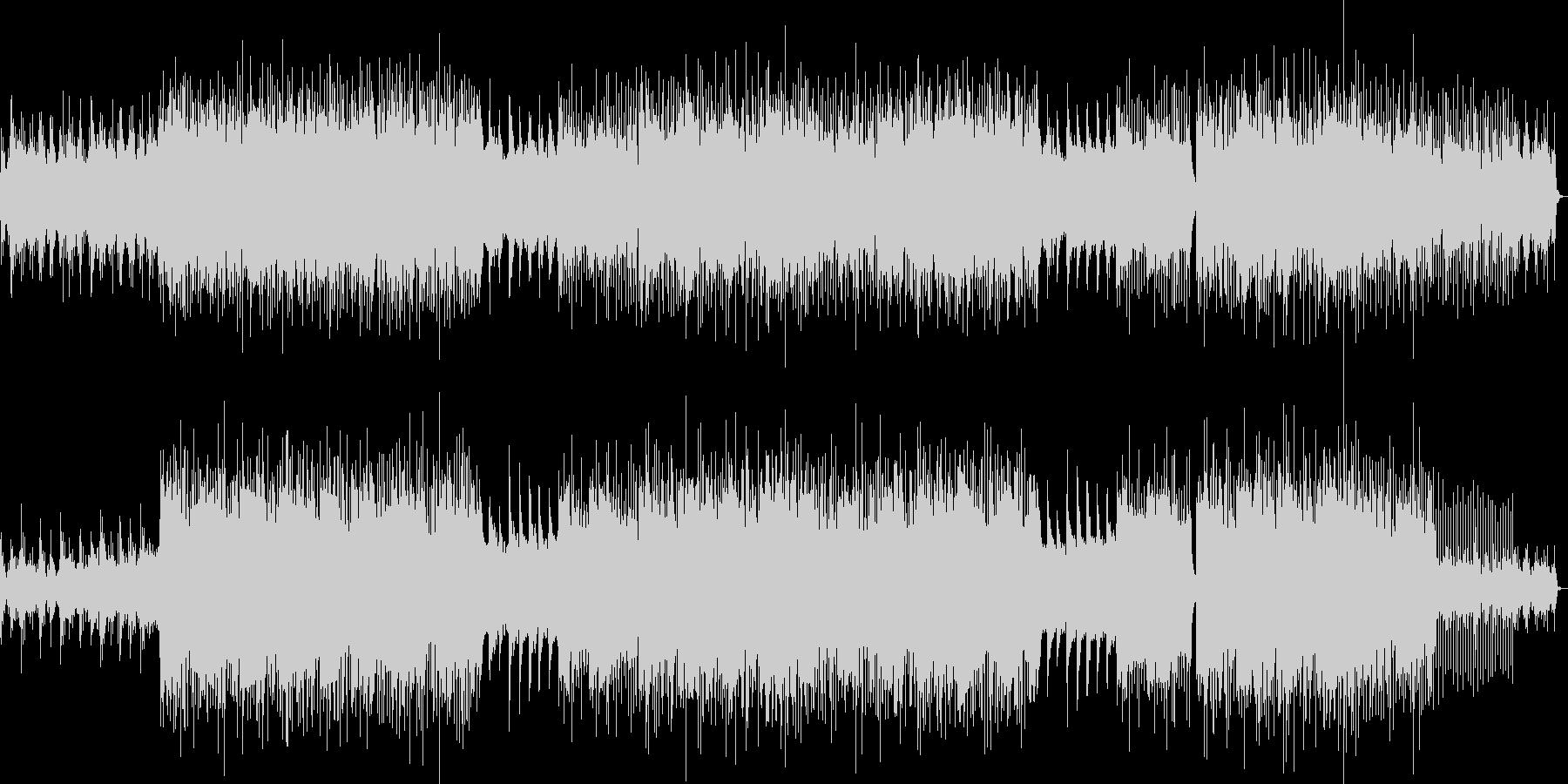 アコギ伴奏が心地よいポストロックの未再生の波形