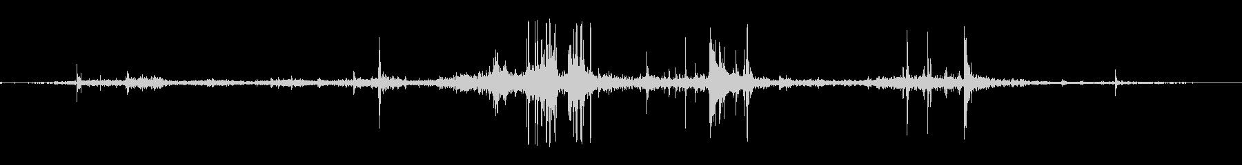 ジェネリックジャンクアンドデブリクランチの未再生の波形