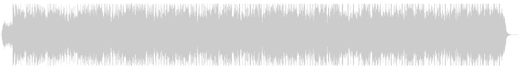 ピアノとストリングスの爽やかなグルーブの未再生の波形