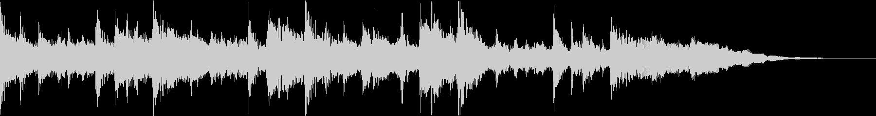 グロッケンシュピール、ピアノ、スト...の未再生の波形