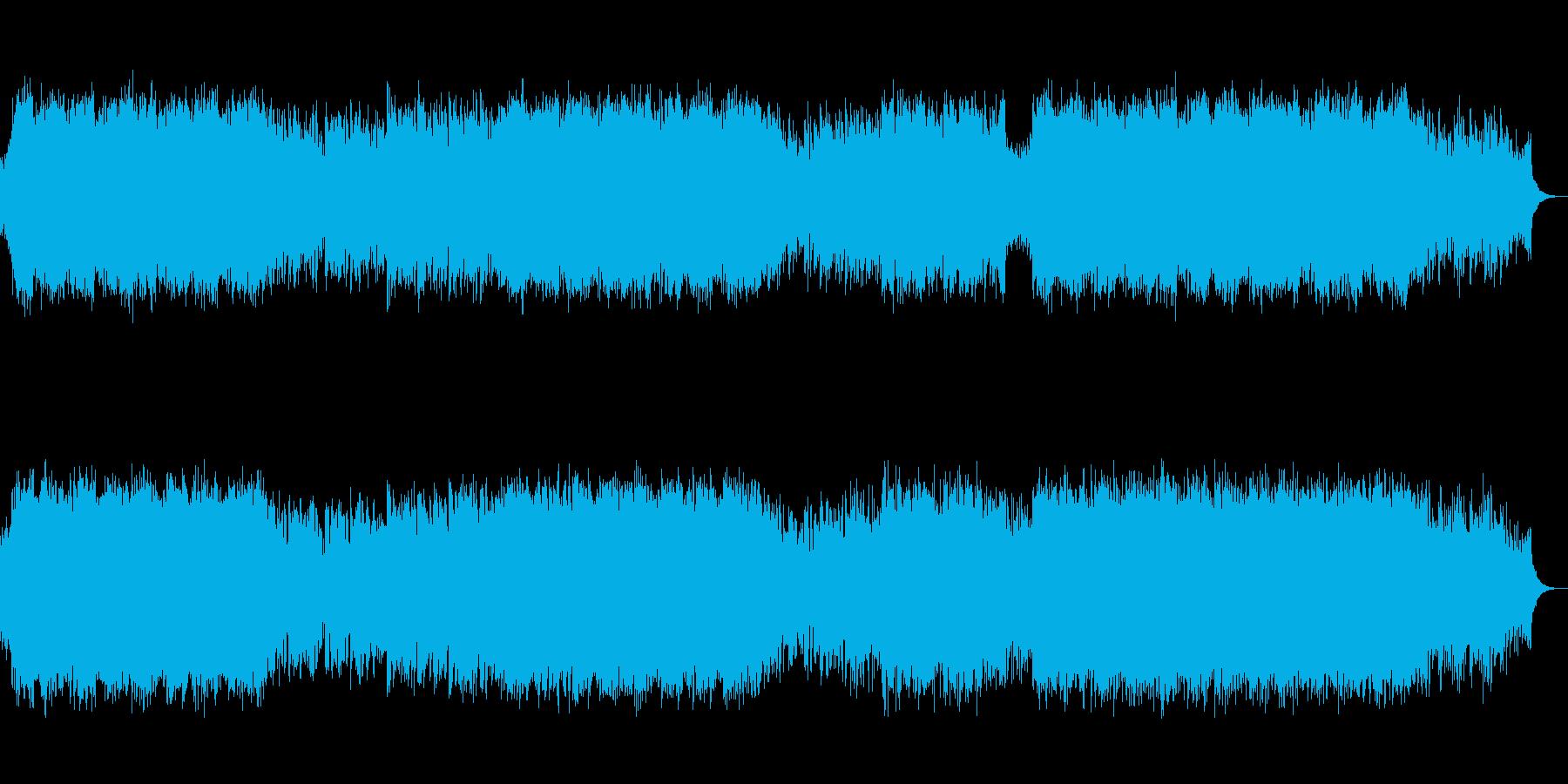 尺八の生演奏!疾走感と透明感の和風EDMの再生済みの波形