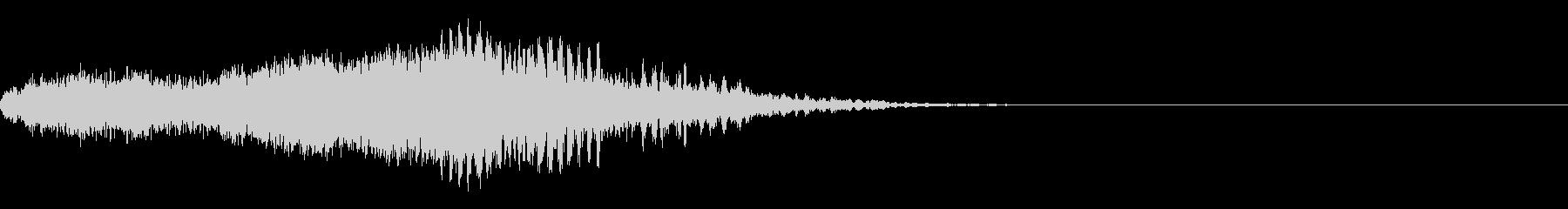 スパーク音-38の未再生の波形