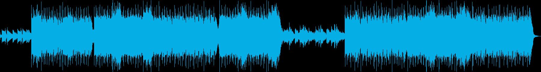 ギターと女性の声・チルでLoFiなビートの再生済みの波形