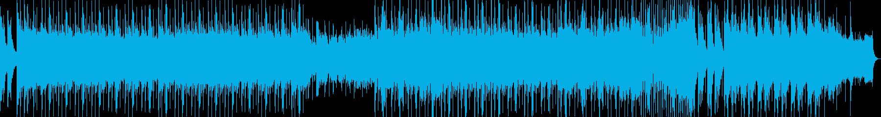 和風春琴オーケストラ穏やかゆったりBGMの再生済みの波形