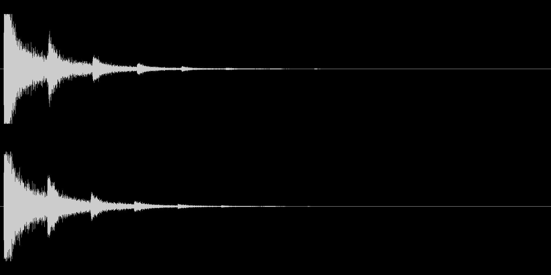 レーザー音-06-2の未再生の波形