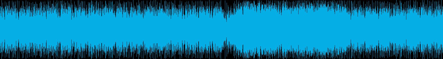 危険/緊急事態/四つ打ち/ループの再生済みの波形