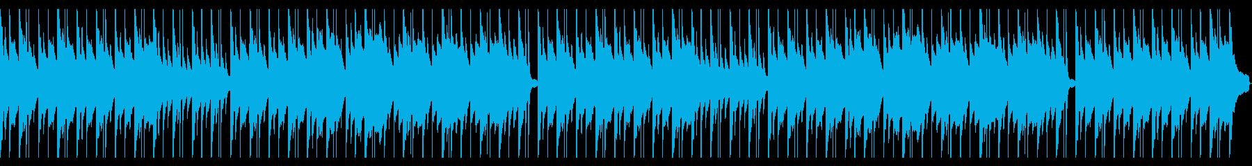 夕暮れ/動物/ピアノ/眠る/ハープ/柔軟の再生済みの波形