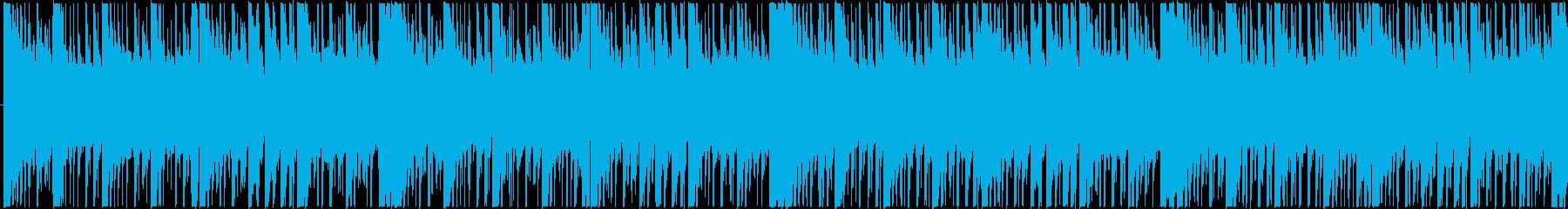 神秘的な和風アンビエント(ループB)の再生済みの波形