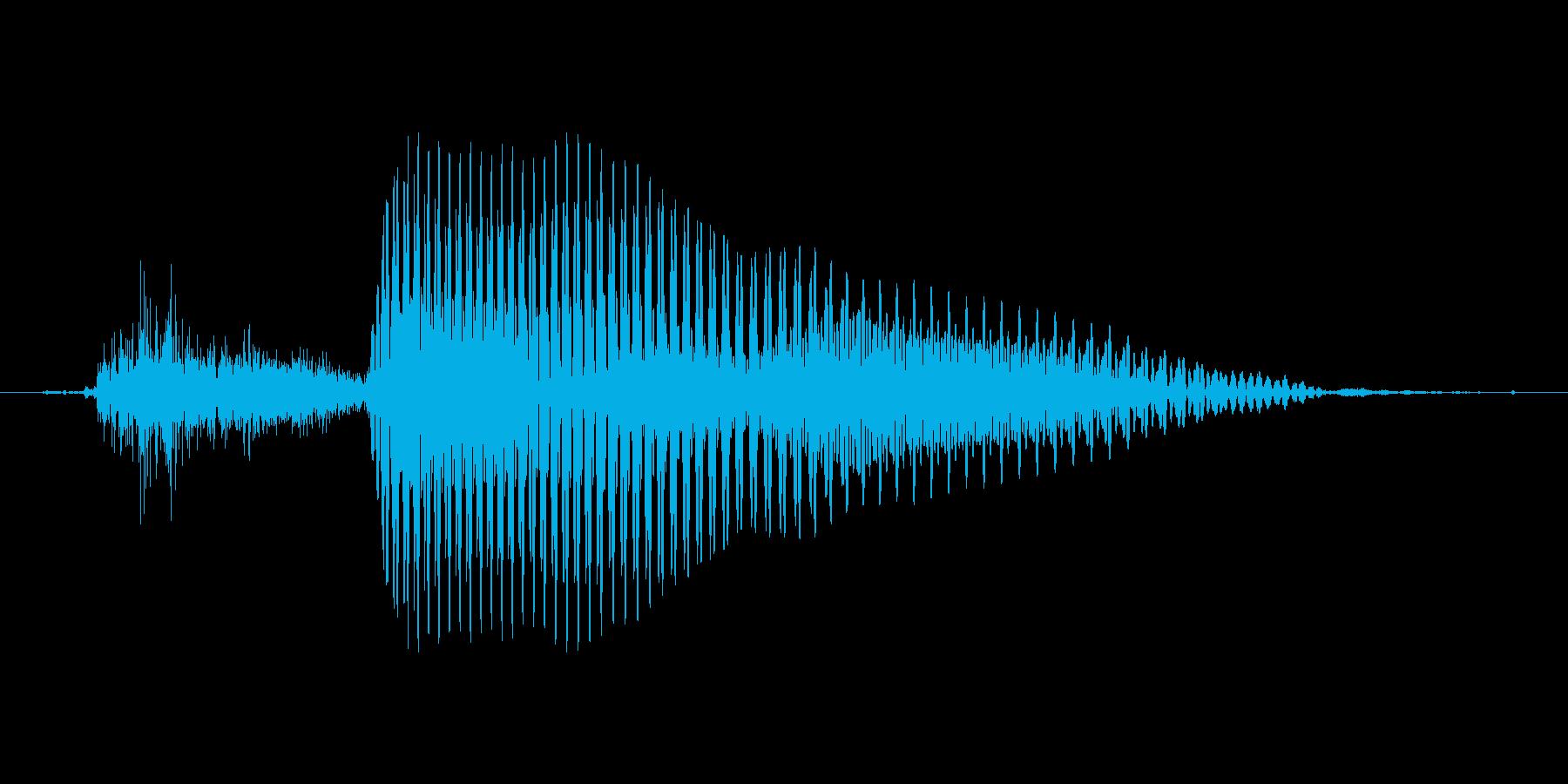 2 (Two, トゥ、ツー、英語発音,…の再生済みの波形