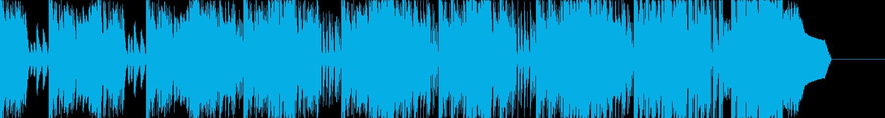 Early breakbeat jingle's reproduced waveform