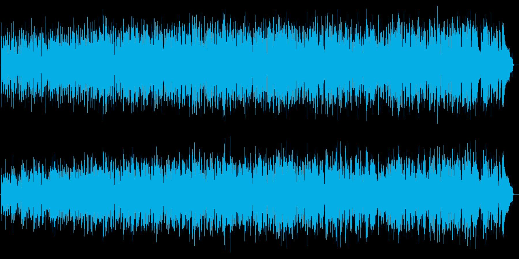 Cappuccinoの再生済みの波形