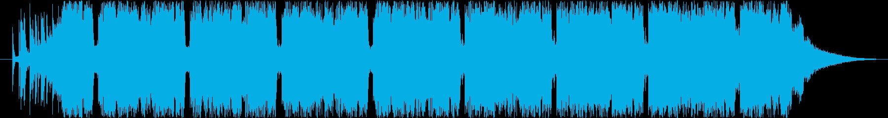 30秒のFuture Bassの再生済みの波形