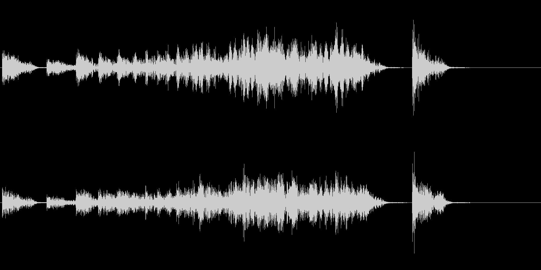 太鼓バリエーション(出囃子)の未再生の波形