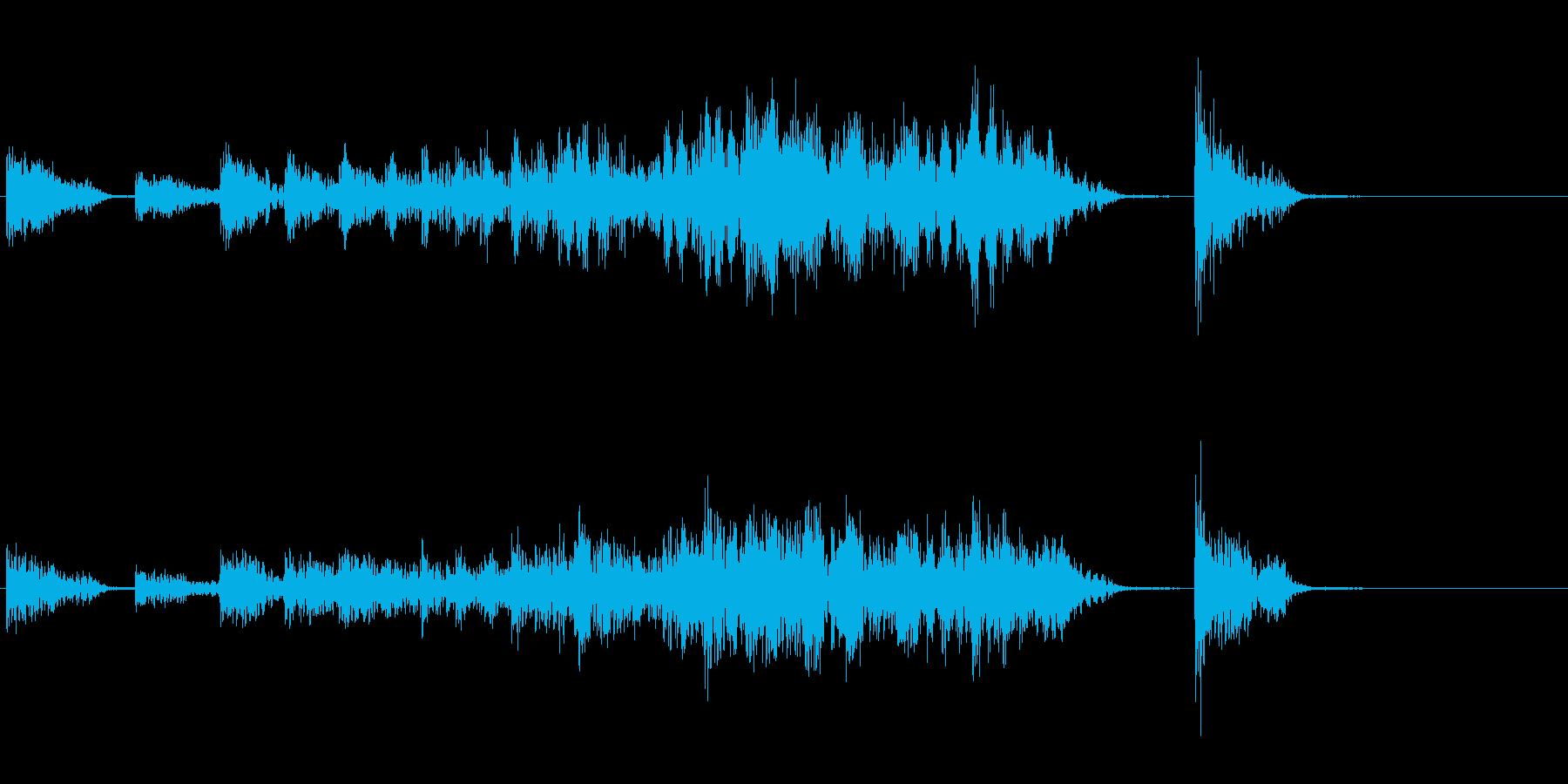 太鼓バリエーション(出囃子)の再生済みの波形
