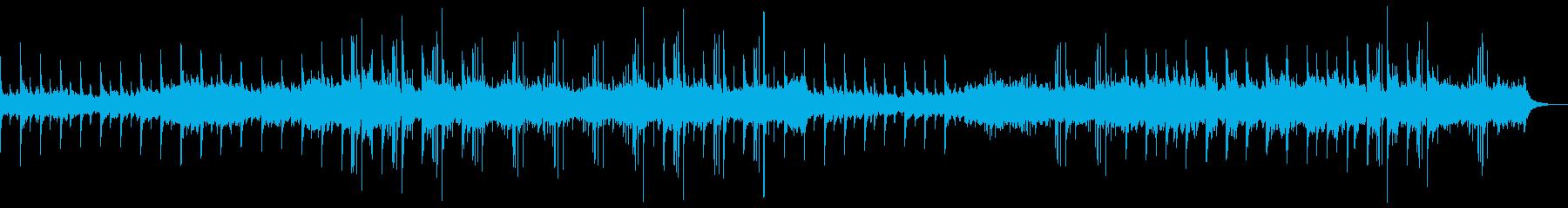 ピアノを使った哀愁的なBGMの再生済みの波形