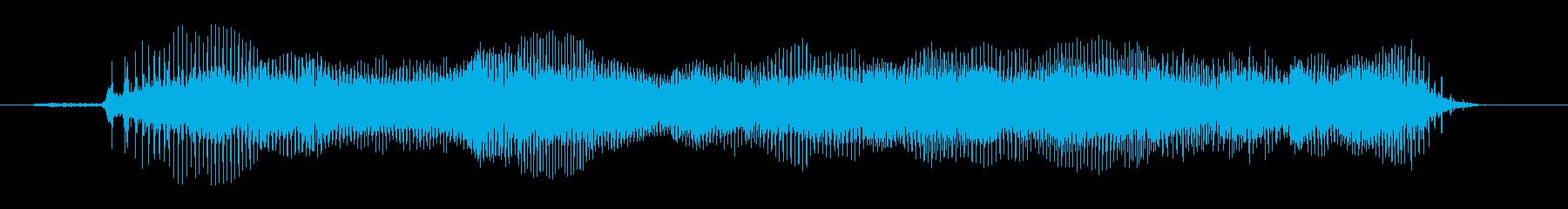 ツール;エアチャフとスパッタを使用...の再生済みの波形