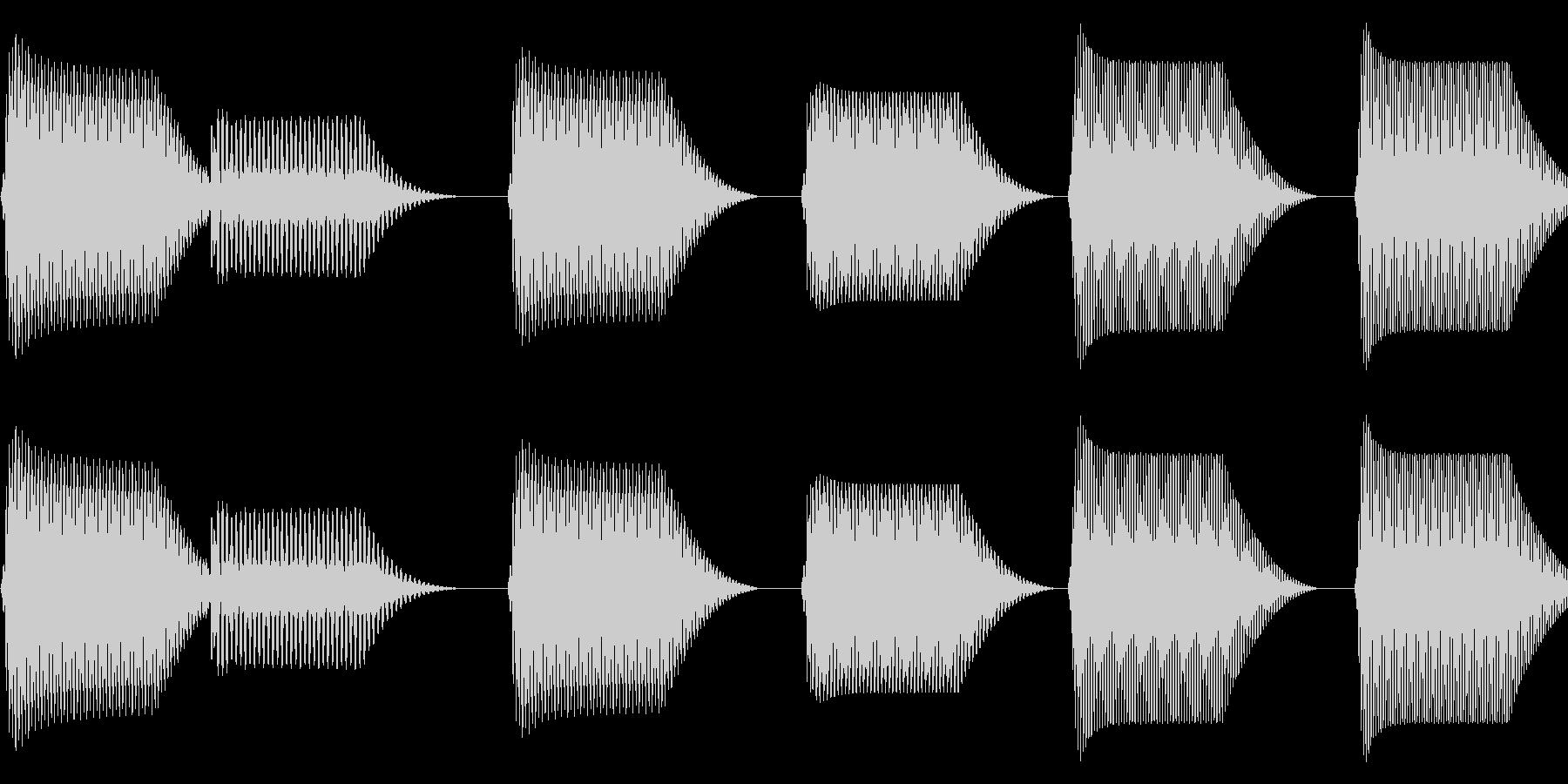 往年のRPG風 コマンド音 シリーズ 6の未再生の波形
