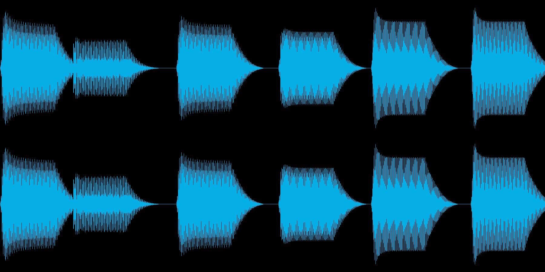 往年のRPG風 コマンド音 シリーズ 6の再生済みの波形