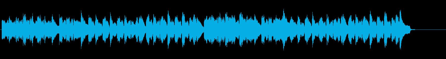 こぎつねをヴァイオリン2重奏での再生済みの波形