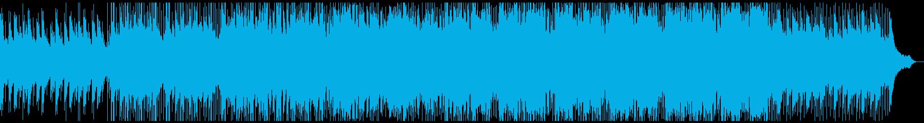 科学と現代技術法人の音楽の再生済みの波形