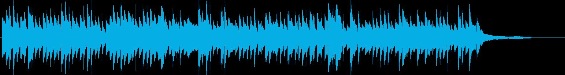 美しい日常のワンシーンピアノソロの再生済みの波形