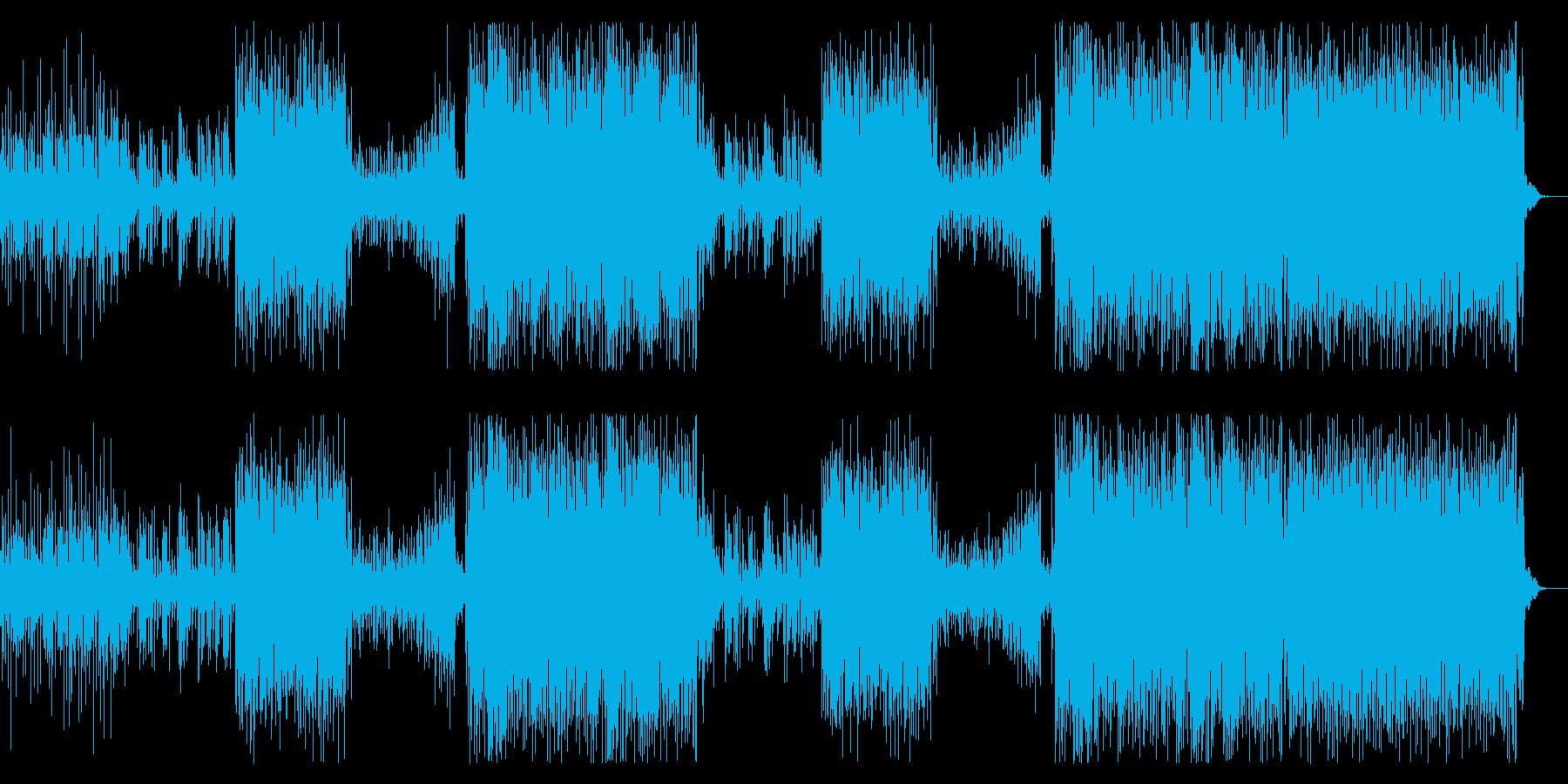 洋楽トレンド女性セツナ系トロピカルハウスの再生済みの波形