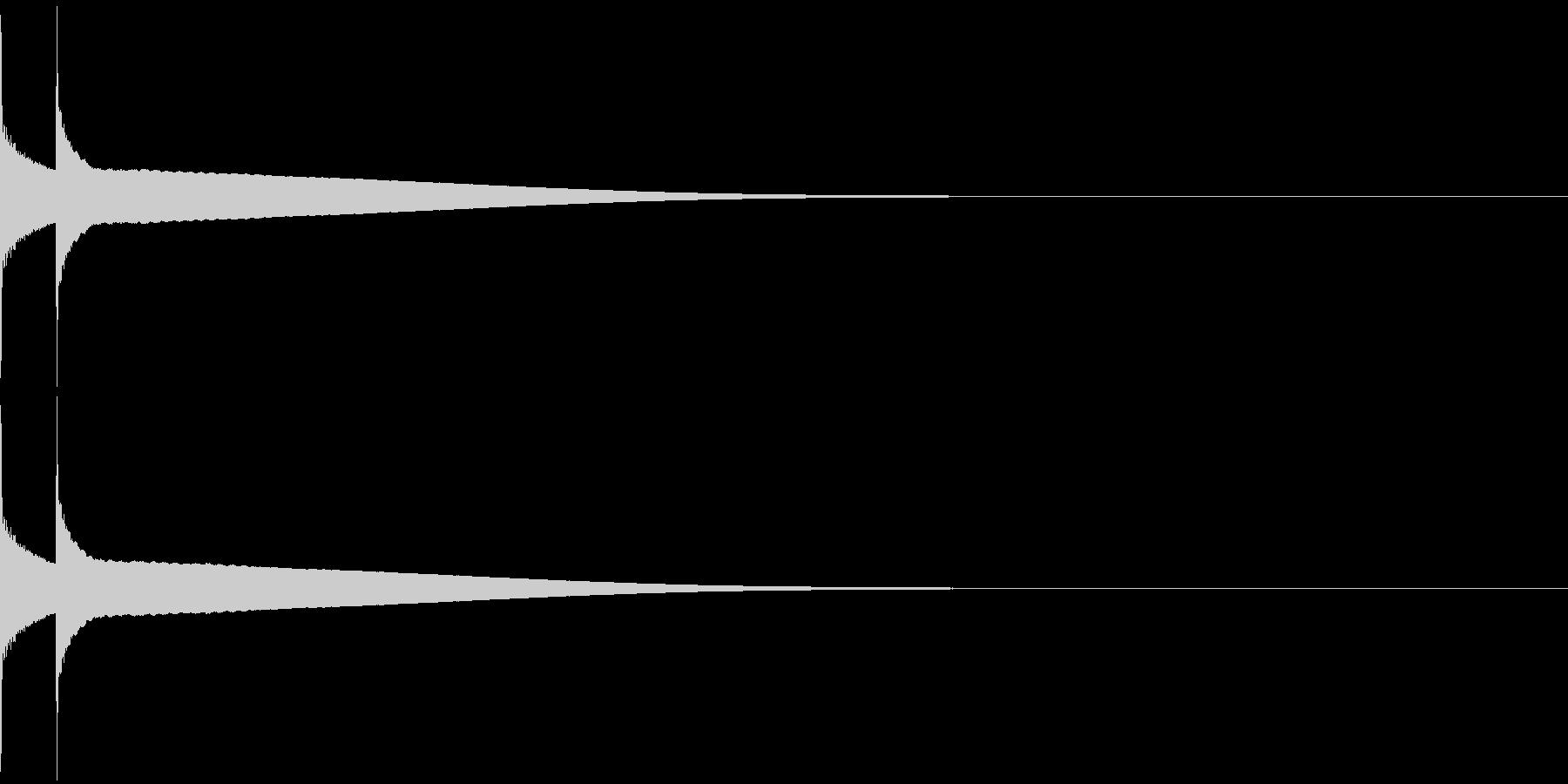 アイテム/コインゲットの未再生の波形