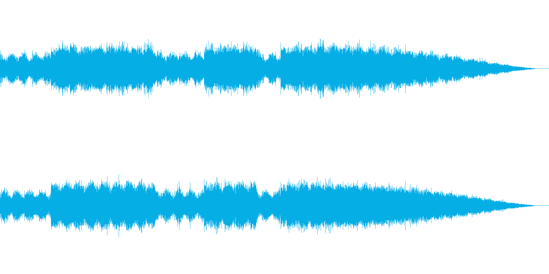 アンビエント・エレクトロです。の再生済みの波形