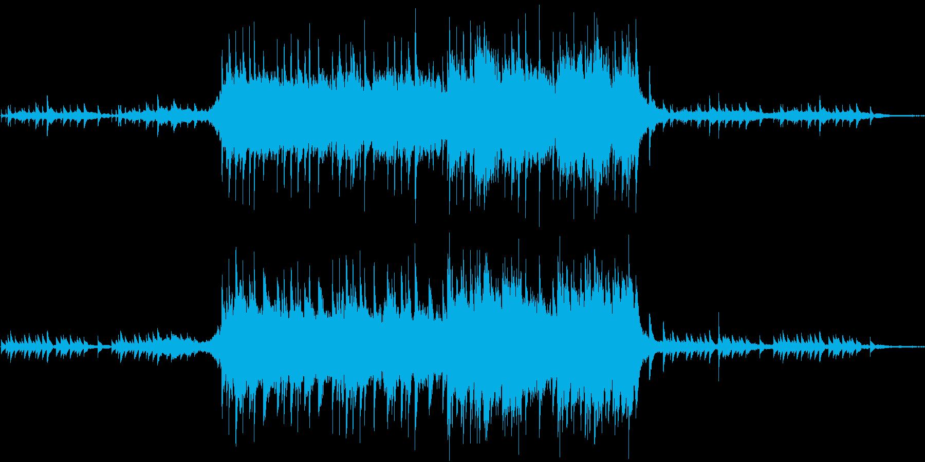泣けるピアノとストリングスのバラードの再生済みの波形