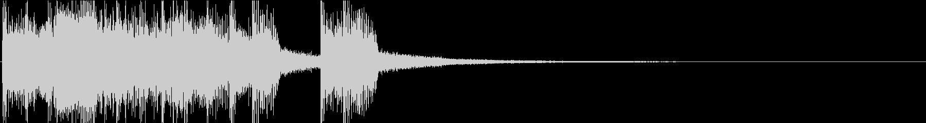 場面転換時用ジングルROCK4の未再生の波形