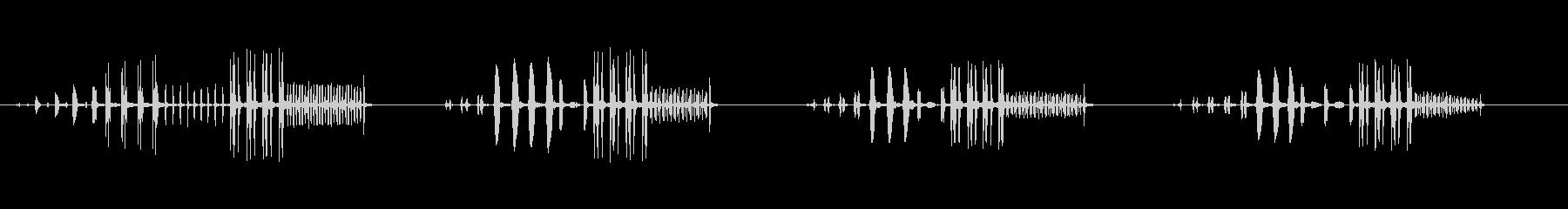 THRUSH NIGHTINGAL...の未再生の波形