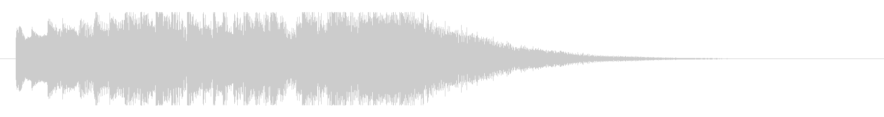 琴・尺八の情緒ある純和風ロゴの未再生の波形