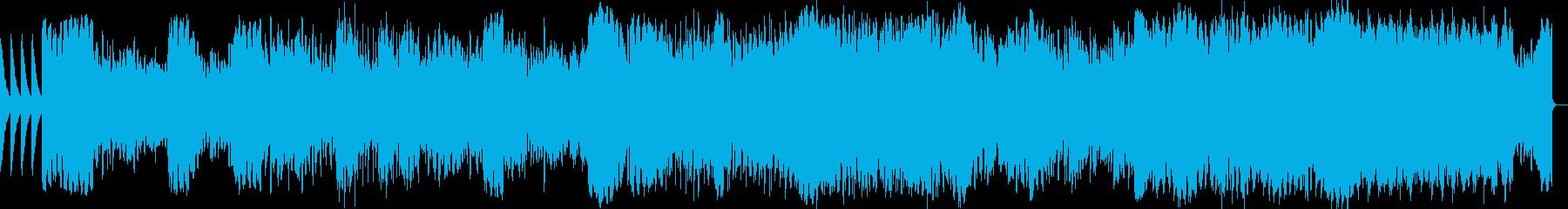 結婚式のスライドショー用BGM(感動系)の再生済みの波形