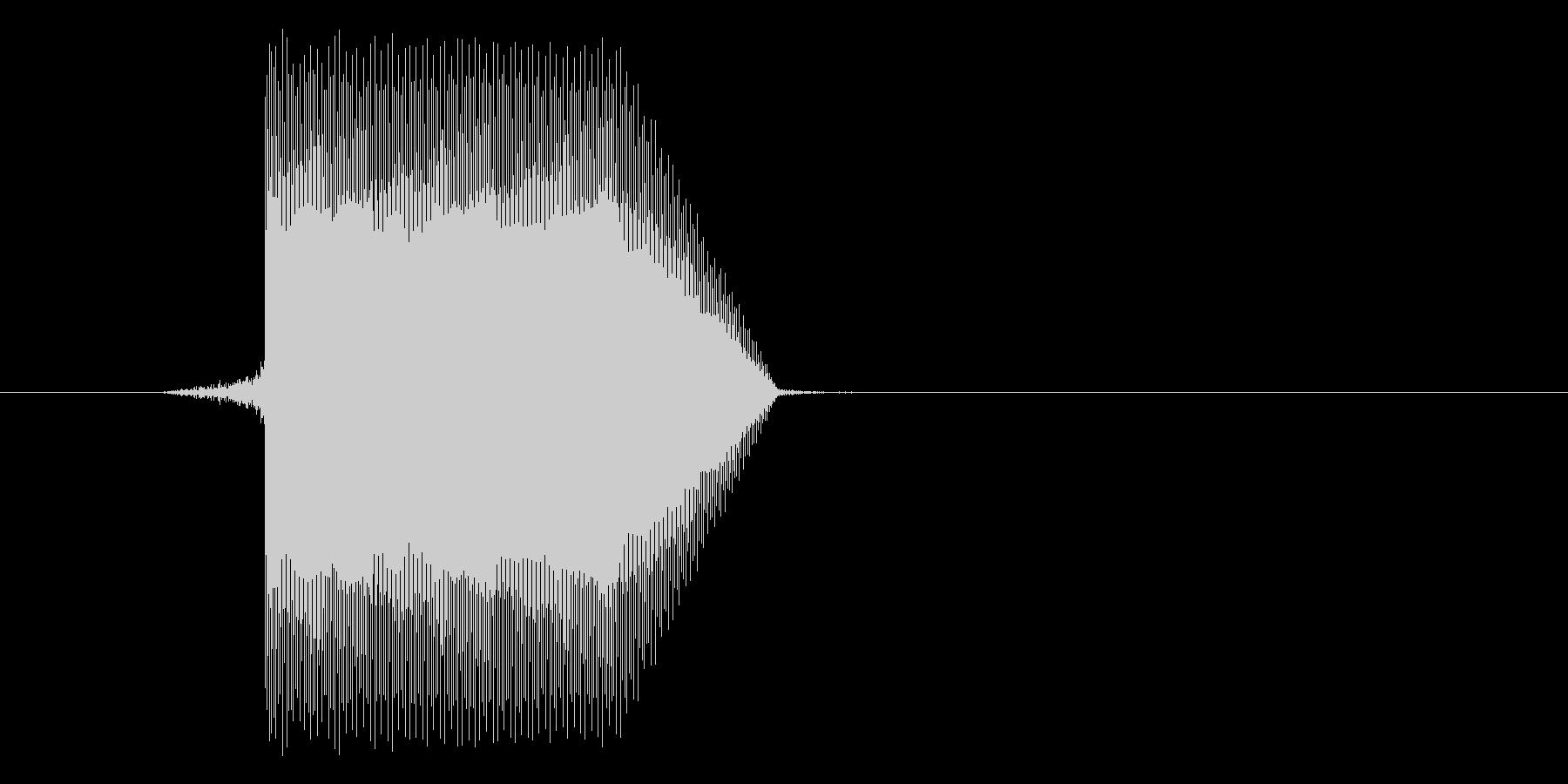 ゲーム(ファミコン風)セレクト音_015の未再生の波形