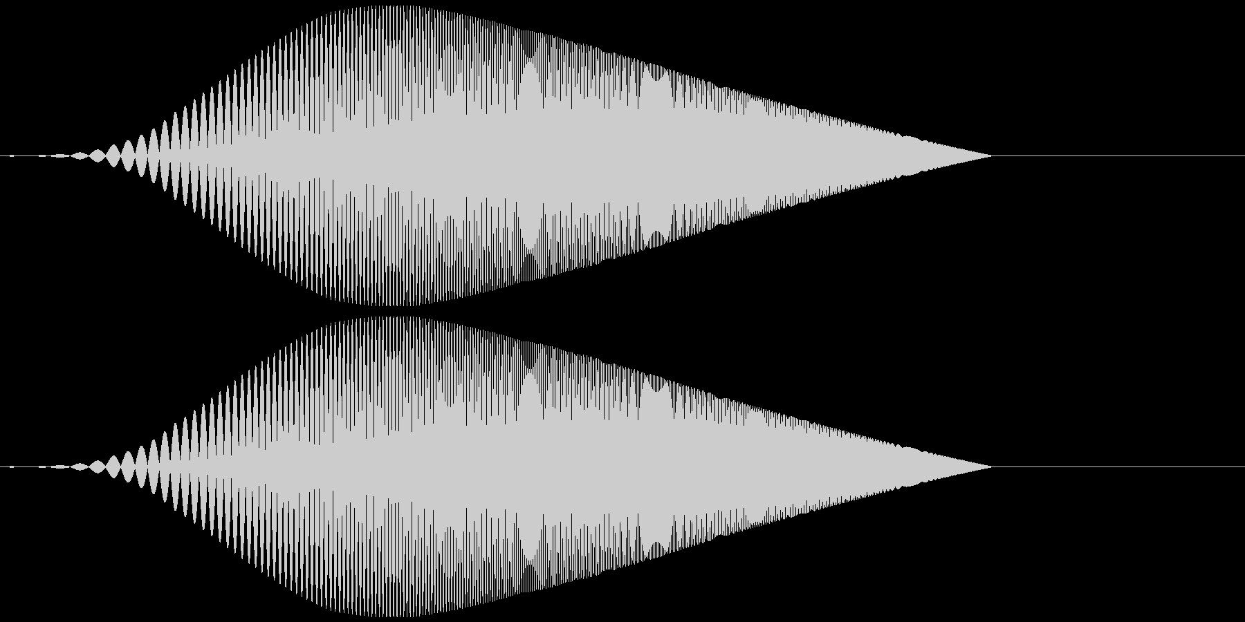 Tool プレゼン映像向け動作SE 5の未再生の波形