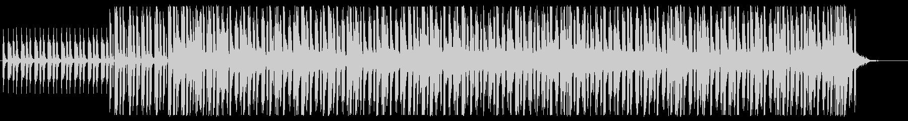 不思議な雰囲気のエレクトロニックの未再生の波形