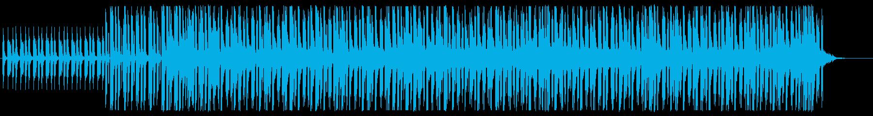 不思議な雰囲気のエレクトロニックの再生済みの波形