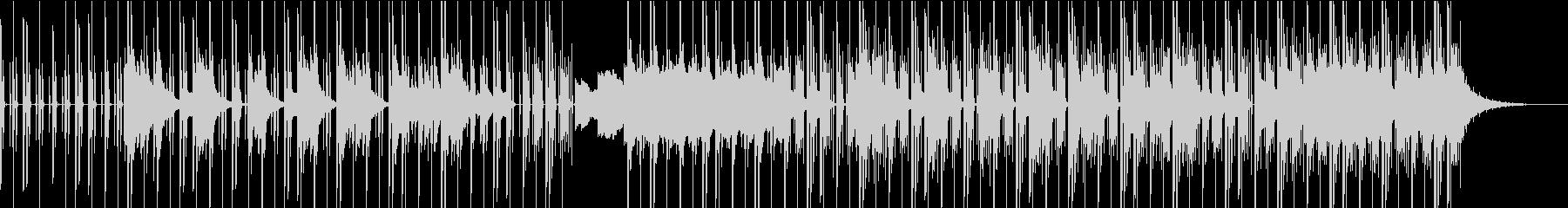オシャレなエレピが特徴的な曲の未再生の波形