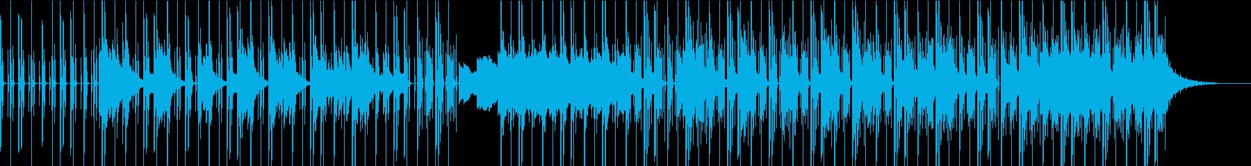 オシャレなエレピが特徴的な曲の再生済みの波形