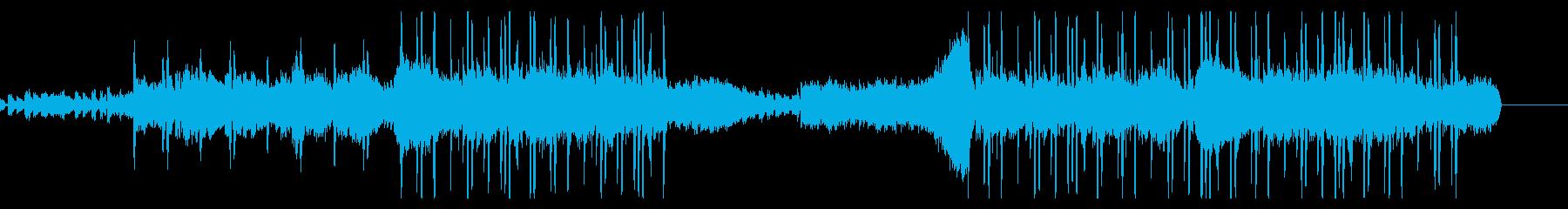 voiceが印象的なエレクトリックポップの再生済みの波形