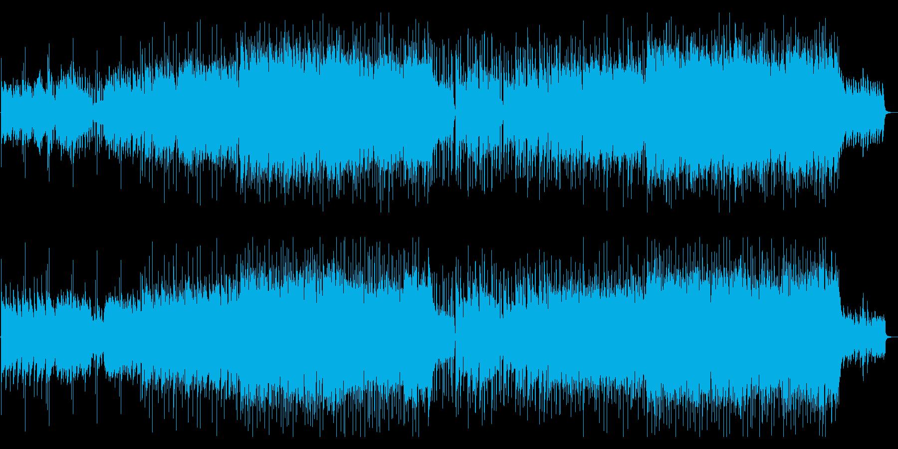【生演奏】爽やかで前向きなバイオリン曲の再生済みの波形