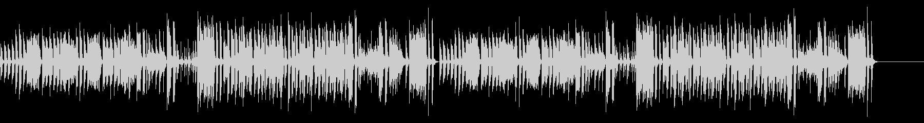 日常のBGMの未再生の波形